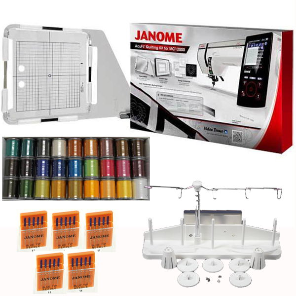 Janome Horizon Memory Craft 12000 Embroidery Sewing