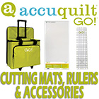 Accuquilt Cutting Mat Rulers & Accessories
