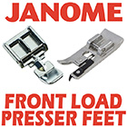 Janome Front Load Presser Feet
