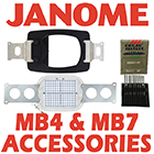Janome MB4-MB7 Accessories