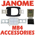 Janome MB4 Accessories
