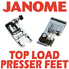 Janome Top Load Presser Feet