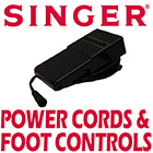 Singer Power Cords & Foot Controls